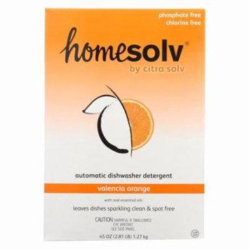 Citra-solv Citra Dish Automatic Dishwasher Detergent - Valencia Orange - Pack of 12 - 45 Fl Oz.