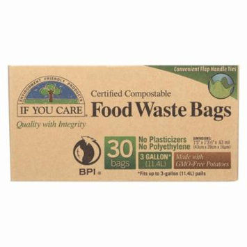 If You Care Trash Bags - Recycled - Pack of 12 - 30 Count