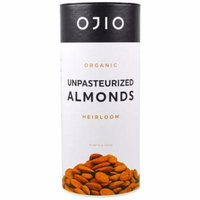 Ojio, Organic Unpasteurized Almonds, 8 oz(pack of 2)