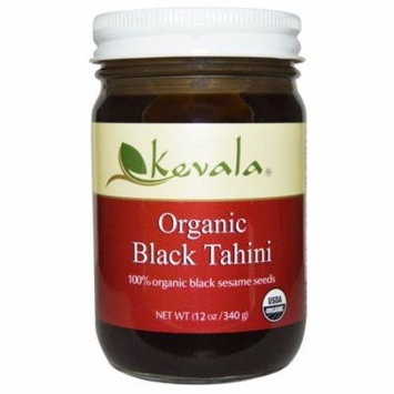 Kevala, Organic Black Tahini, 12 oz(pack of 4)