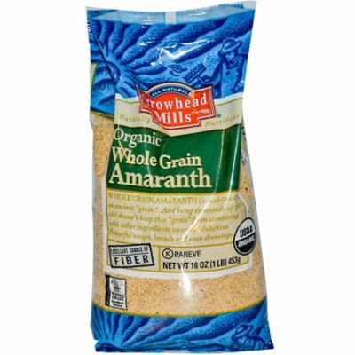 Arrowhead Mills, Organic, Whole Grain Amaranth, 16 oz (pack of 4)