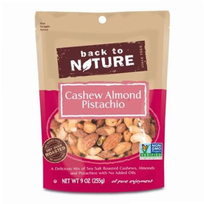 Back to Nature, Cashew Almond Pistachio Mix, 9 oz (pack of 1)