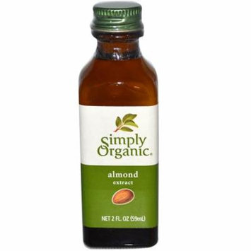 Simply Organic, Almond Extract, 2 fl oz (pack of 3)
