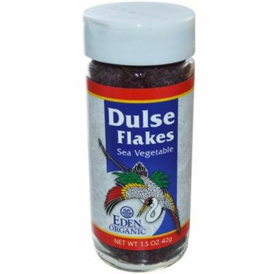 Eden Foods, Organic, Dulse Flakes, Sea Vegetable, 1.5 oz (pack of 1)