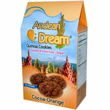 Andean Dream, Quinoa Cookies, Cocoa-Orange, 7 oz (pack of 4)