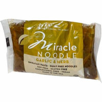 Miracle Noodle, Garlic & Herb, Shirataki Pasta, 7 oz (pack of 4)