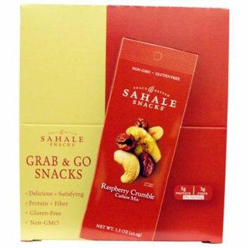 Sahale Snacks, Raspberry Crumble Cashew Mix, 9 Packs, 1.5 oz (42.5 g) Each(pack of 2)