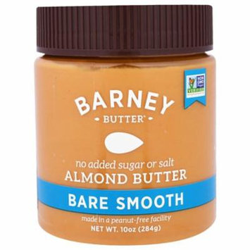 Barney Butter, Almond Butter, Bare Smooth, 10 oz (pack of 3)