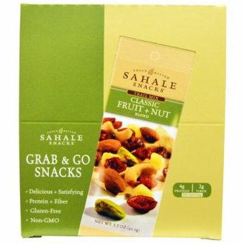 Sahale Snacks, Trail Mix, Classic Fruit + Nut Blend, 9 Packs, 1.5 oz (42.5 g) Each(pack of 2)