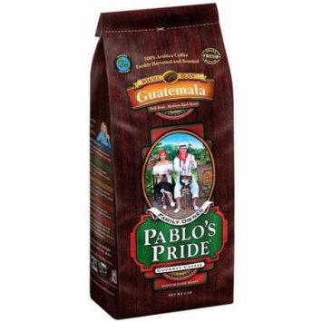 Pablo's Pride - Pablo's Pride Gourmet Coffee, Whole Bean, Guatemala (2 lb.) - (coffee - best for winter all season)
