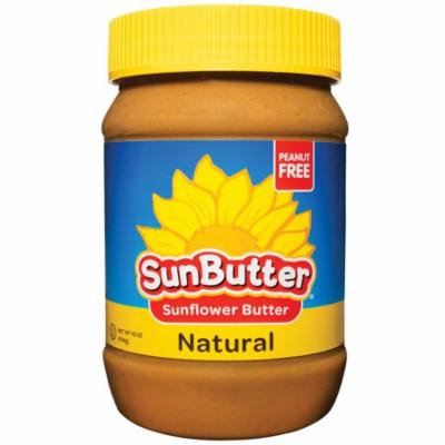 SunButter, Natural Sunflower Butter, 16 oz (pack of 4)