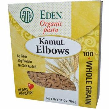 Eden Foods, Organic Pasta, Kamut Elbows, 14 oz(pack of 12)