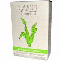 Quinn Popcorn, Microwave Popcorn, Parmesan & Rosemary, 2 Bags, 3.5 oz (100 g) Each(pack of 4)