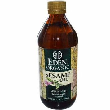 Eden Foods, Organic Sesame Oil, Unrefined, 16 fl oz (pack of 2)