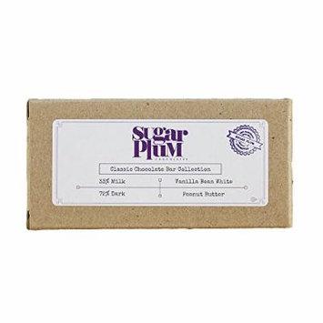 Classic Chocolate Bar Sampler Pack (4 Pack)