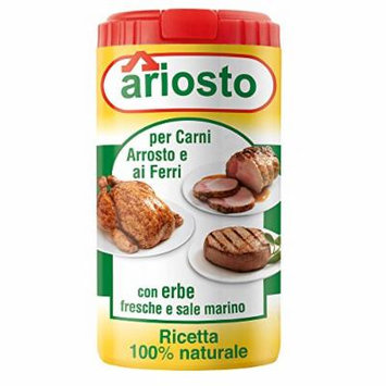 Ariosto Meat Seasoning, Roasted and Grilled, 2.8 Ounce, 12 Per Case