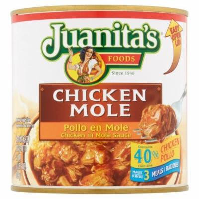Juanita's Chicken Mole 25 oz (Pack of 6)