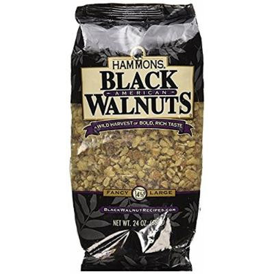 Hammons American Black Walnuts,24 Ounce Each( Pack of 2 )