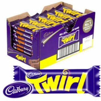 Twirl Cadbury Twin Chocolate Fingers 47G X 48 Bars