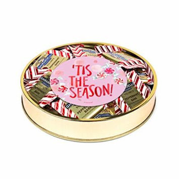 Ghirardelli Peppermint Bark Christmas Gift, holiday season - 24 Peppermint Bark Squares and Gift Container