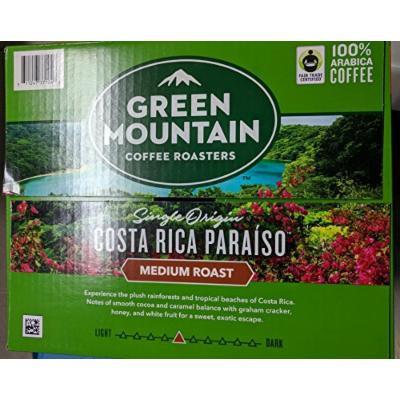 Green Mountain Coffee Costa Rica Paraiso K cup 54 K cup