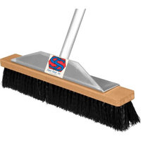 Super Sweeper 1000-108024 24 in. Black Poly Super Sweeper Broom