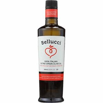 Bellucci Premium Olive Oil - Extra Virgin - 100 Percent Italian - 500 ml - case of 6 -