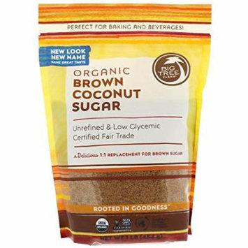 Big Tree Farms, Organic Brown Coconut Sugar, 1 lb (454 g)