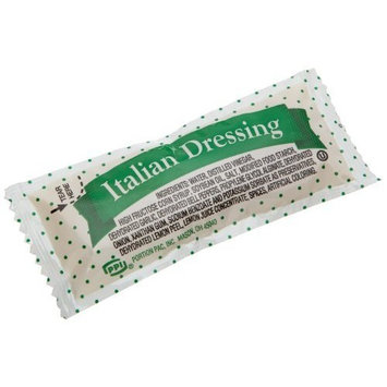 Portion Pack Dressing Italian, 0.42-Ounce Single Serve Packages (Pack of 200)