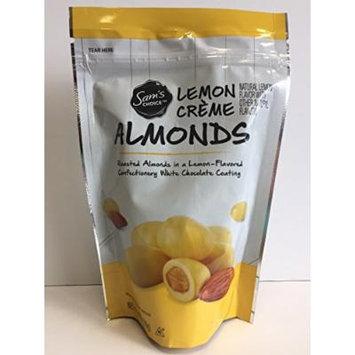 Sam's Choice Gourmet Lemon Creme Almonds, 7 oz Bag