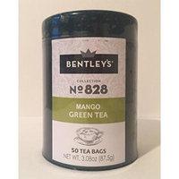 Bentley's harmony tin collection mango green tea 50 tea bags (3 pack)