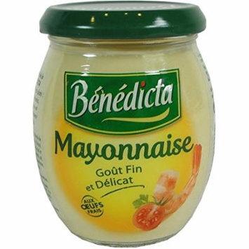 Benedicta Gourmet Mayonnaise - French Mayonnaise - 8.8 Oz. (3 PACK)