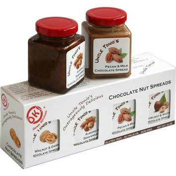 Uncle Tonio's Chocolate Nut Spreads - Sample Pack