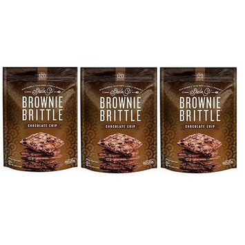 Sheila G's Brownie Brittle 5oz Bag (3 Pack Chocolate Chip)
