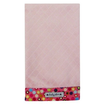 Baby Star Diamond Diaper Burp - Hot Dot Pink (Discontinued by Manufacturer)