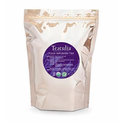 Teatulia Organic Tulsi Tea - 50 Premium Pyramid Bags