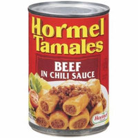Hormel Beef Tamales, In Chili Sauce, 15-Ounce Units (Pack of 10)