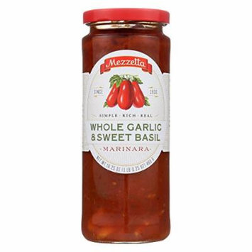 Mezzetta Marinara Whole Garlic and Sweet Basil - Case of 6 - 16.25 oz.