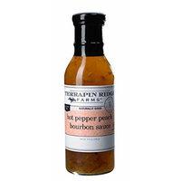 Terrapin Ridge Farms Hot Pepper Peach Bourbon Sauce 12 FL OZ (Pack of 1)
