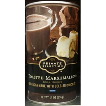 Private Selection Toasted Marshmallow Hot Cocoa 14 oz (Pack of 2)