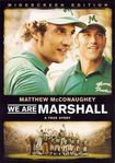 We Are Marshall Dvd from Warner Bros.