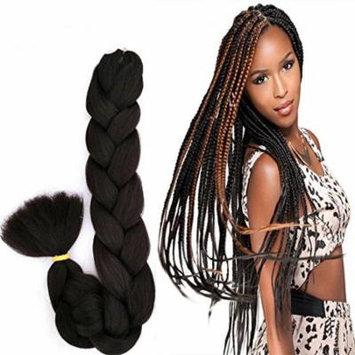 Super Braid Advanced Kanekalon Fibers Bulk Hair Easy to Grab Braid Twist Same Quality as X-pression Ultra Braid, Pack of 2, Color #33