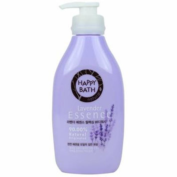 Happy Bath Lavender Essence Body Cleanser 500g (1 Pack)
