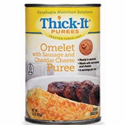 Thick-It Puree 15 oz. Can Sausage/Cheese Omelet Ready to Use, 4 Pack