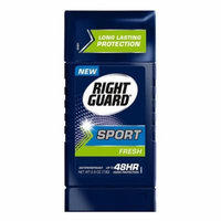 Right Guard Sport Antiperspirant And Deodorant Invisible Solid, Fresh, 2.6 Oz, 3 Pack
