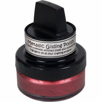 Cosmic Shimmer Metallic Gilding Polish-Rich Red