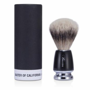 Baxter Of California - Baxter Badger Hair Shave Brush - Silver Tip (Black) -1pc