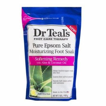 Dr Teal's Softening Foot Soak Salt, 2 lb.