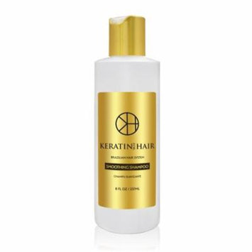 Keratin For Hair Botanical Extracts daily use Shampoo SULFATE FREE protect Color Enhance Hair Growth prevent Hair Loss Champu Suavizante 8 fl oz
