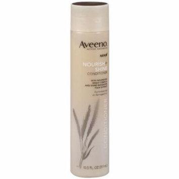 4 Pack Aveeno Nourish + Shine Conditioner Active Naturals 10.5 Oz Each